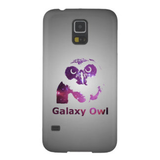 Galaxy Owl | Purple Universe Galaxy S5 Cover
