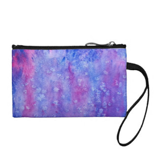 galaxy painting change purses