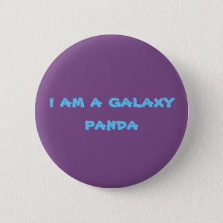 galaxy pandas 6 cm round badge