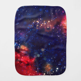 Galaxy Print. Burp Cloth