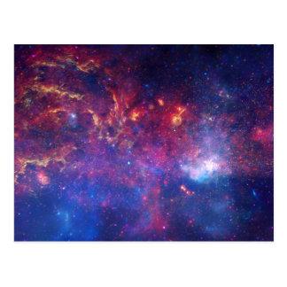 Galaxy Print Milky Way Postcard