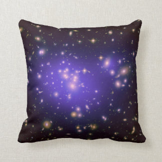 Galaxy Print Stars Ultra Violet Starry Deep Space Cushion
