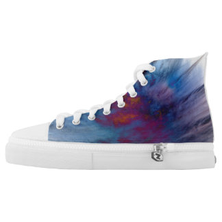 Galaxy Printed Shoes