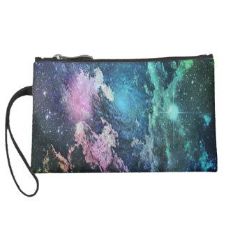Galaxy purse wristlets