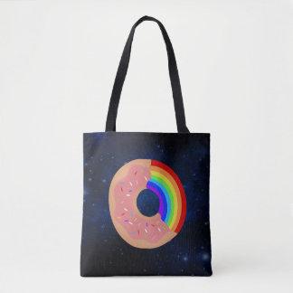 Galaxy Rainbow Donut Bag