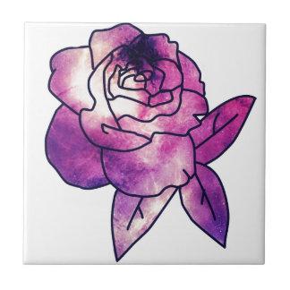 Galaxy Rose Tile