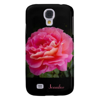 Galaxy S4 Case, A Perfect Pink Rose Galaxy S4 Case