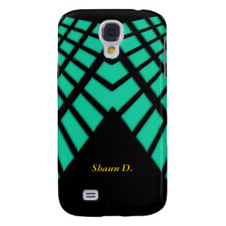 Galaxy S4 Cover Abstract Green Galaxy S4 Cases
