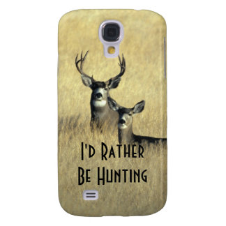 Galaxy S4 Masculine White Tail Mule Deer Buck Doe Galaxy S4 Case