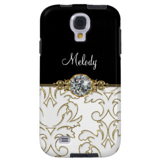 Galaxy S4  Monogram Jewel Cases