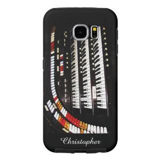 Galaxy S6 Tough Case Antique Organ Keyboard