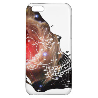 GALAXY SKULL CASE FOR iPhone 5C
