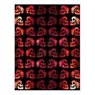 """""""Galaxy Skulls"""" (Fire) Postcard"""