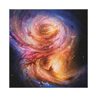 Galaxy SMM J2135-0102 Stretched Canvas Print