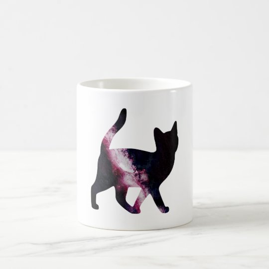 Galaxy Space Cat Coffee Mug