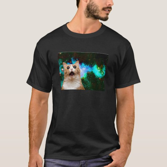 GALAXY SPACE CAT T-Shirt