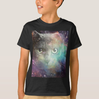 GALAXY SPACE CAT T-Shirt