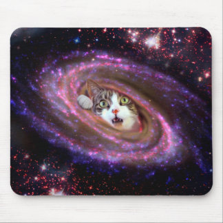 Galaxy Space Cats LOL Mousepad (Horizontal)