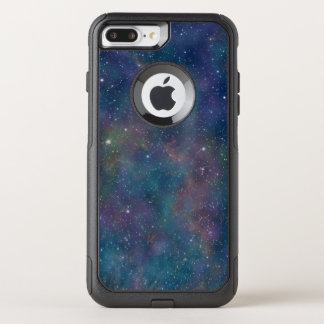 Galaxy Space Pattern Night Sky Stars OtterBox Commuter iPhone 8 Plus/7 Plus Case