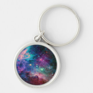 galaxy space universe key holder