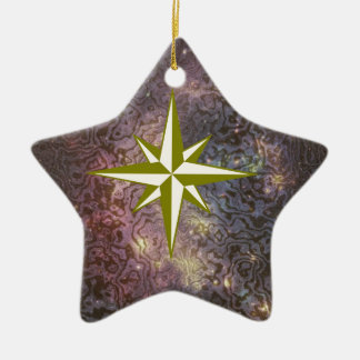Galaxy Star Christmas Ornament