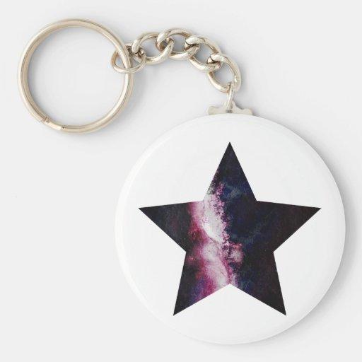Galaxy Star Keychains