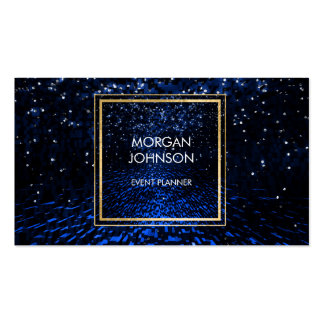 Galaxy Star Wars Space Black Confetti Vip Pack Of Standard Business Cards