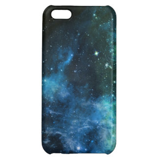 Galaxy Stars Nebula Blue Green Cover For iPhone 5C