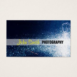 Galaxy stars photography business card