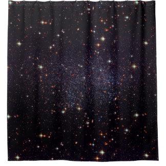 Galaxy Stars Space Shower Curtain