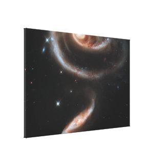 Galaxy Stretched Canvas Print