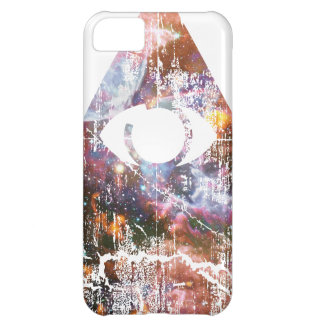 Galaxy Triangle Cover For iPhone 5C