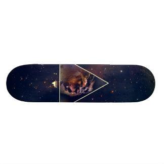 Galaxy Triangle Lion Head - Trendium Authentic 21.3 Cm Mini Skateboard Deck