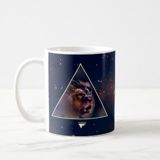 Galaxy Triangle Lion Head - Trendium Authentic Coffee Mug