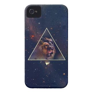 Galaxy Triangle Lion Head - Trendium Authentic iPhone 4 Case