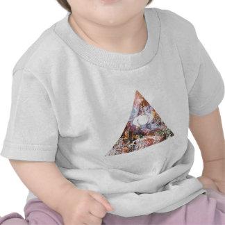 Galaxy Triangle T Shirts