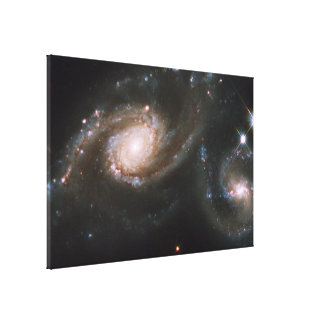Galaxy Triplet Arp 274 Stretched Canvas Print