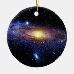 Galaxy Unknown Round Ceramic Decoration
