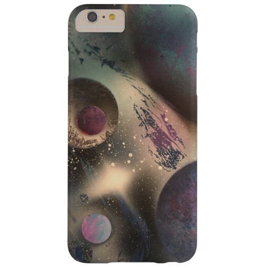 Galaxy Unknown Spray Paint Art Phone Case