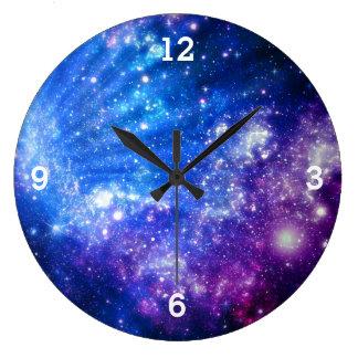 Galaxy Wall Clocks