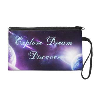 Galaxy Wallet Wristlet Purse