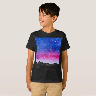 Galaxy Watercolour Kids T-Shirt