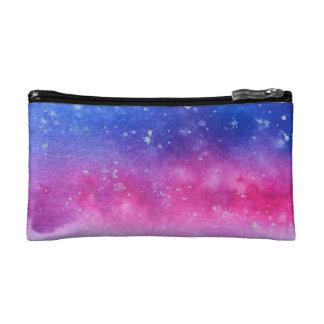 Galaxy Watercolour Makeup Bag
