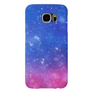 Galaxy Watercolour Samsung Galaxy S6 Cases