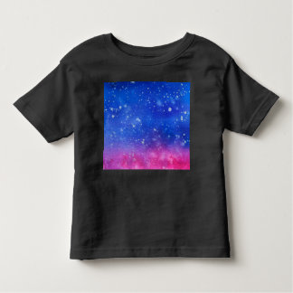 Galaxy Watercolour Toddler Toddler T-Shirt