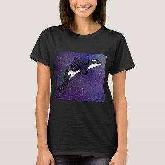 Galaxy whale shirt