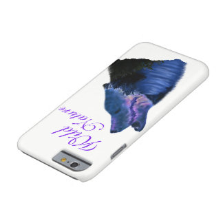 Galaxy Wolf night sky snow mountains Wild Nature Barely There iPhone 6 Case