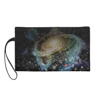 Galaxy Wristlet Purse