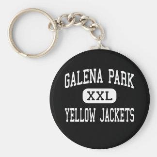 Galena Park - Yellow Jackets - High - Galena Park Key Ring