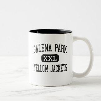 Galena Park - Yellow Jackets - High - Galena Park Two-Tone Coffee Mug